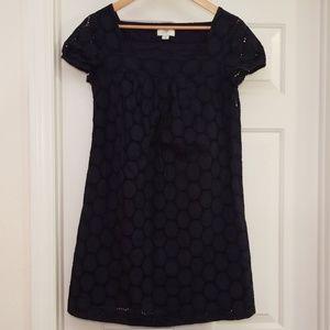Ann Taylor Loft Navy Blue Dress Shift 4